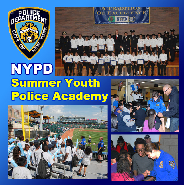 NYPD Summer Youth Police Academy - NYPD News