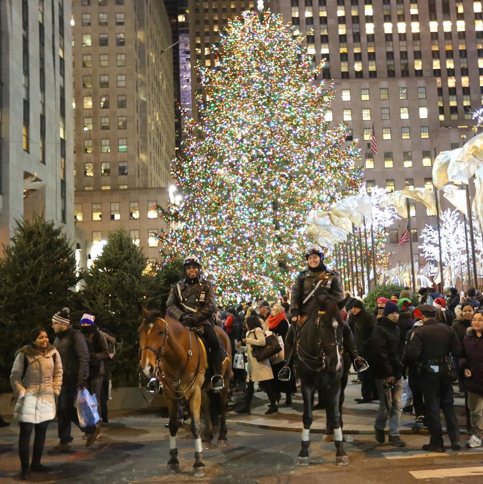 Rockefeller Center Christmas Tree Lighting NYPD News