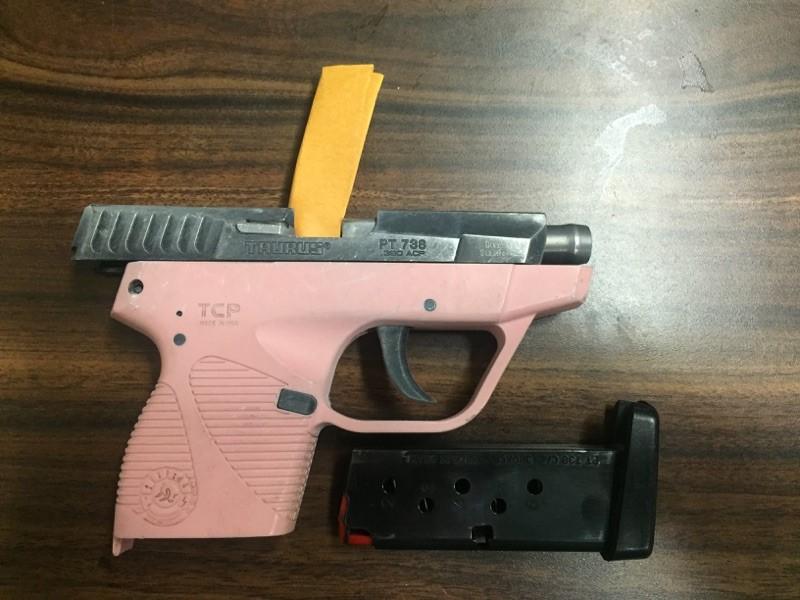 Gun recovered