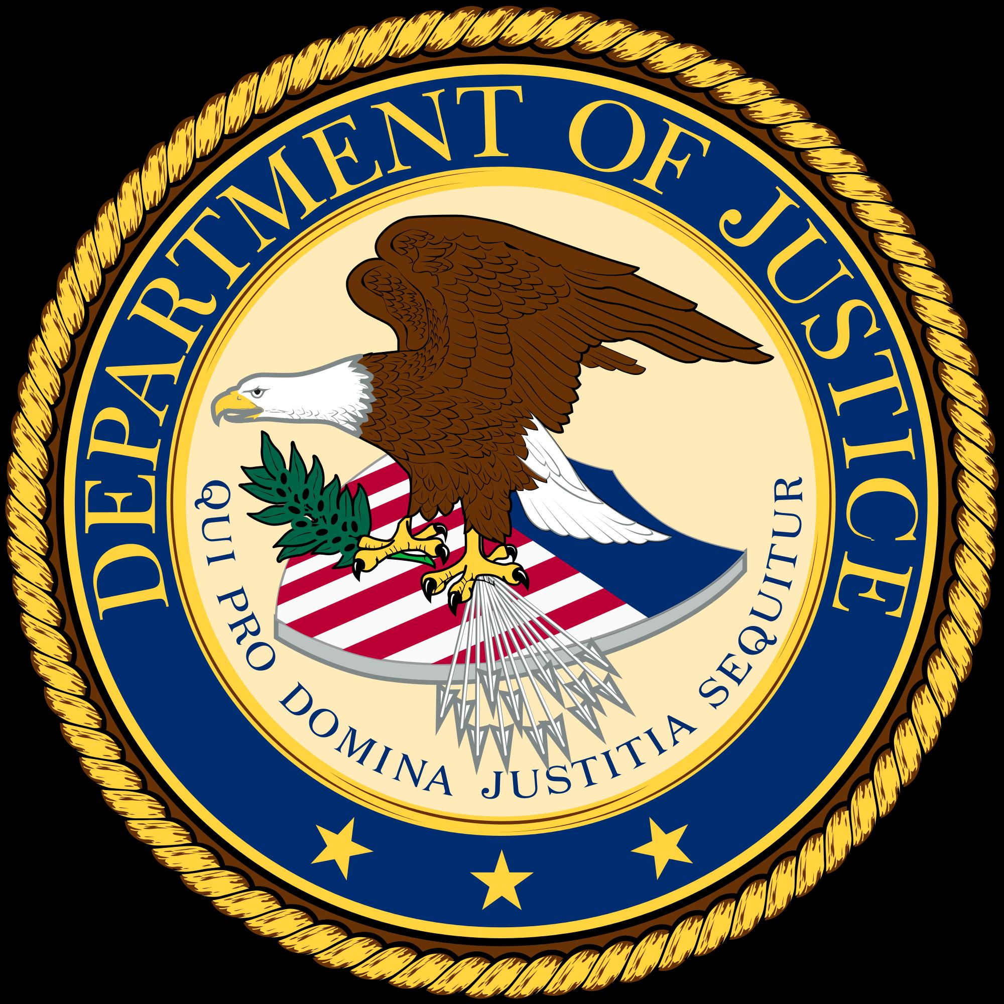 U.S. Drug Enforcement Administration (DEA), seal - vector image