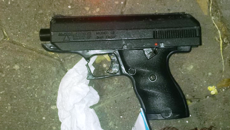6-19-16 Firearm recovered 43 PCT HI-POINT 9 MM CROPPED