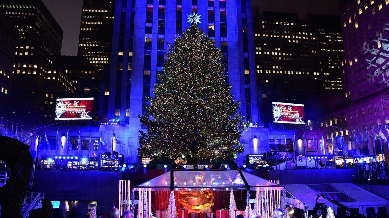 photo credit getty images theo wargo - New York Christmas Tree Lighting