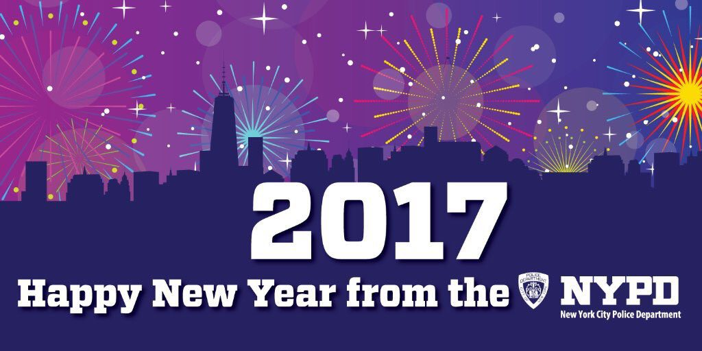 to the men and women of the new york city police department new years day marks the
