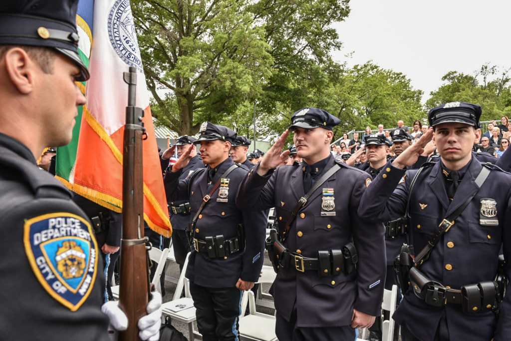 Nypd Highway Unit Officers Graduate Training on Presidents Day