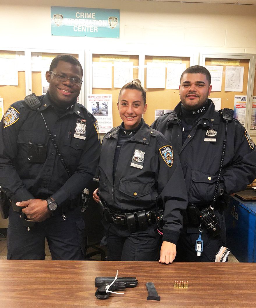 NYPD Officers Recover Firearm And Drugs During Bronx