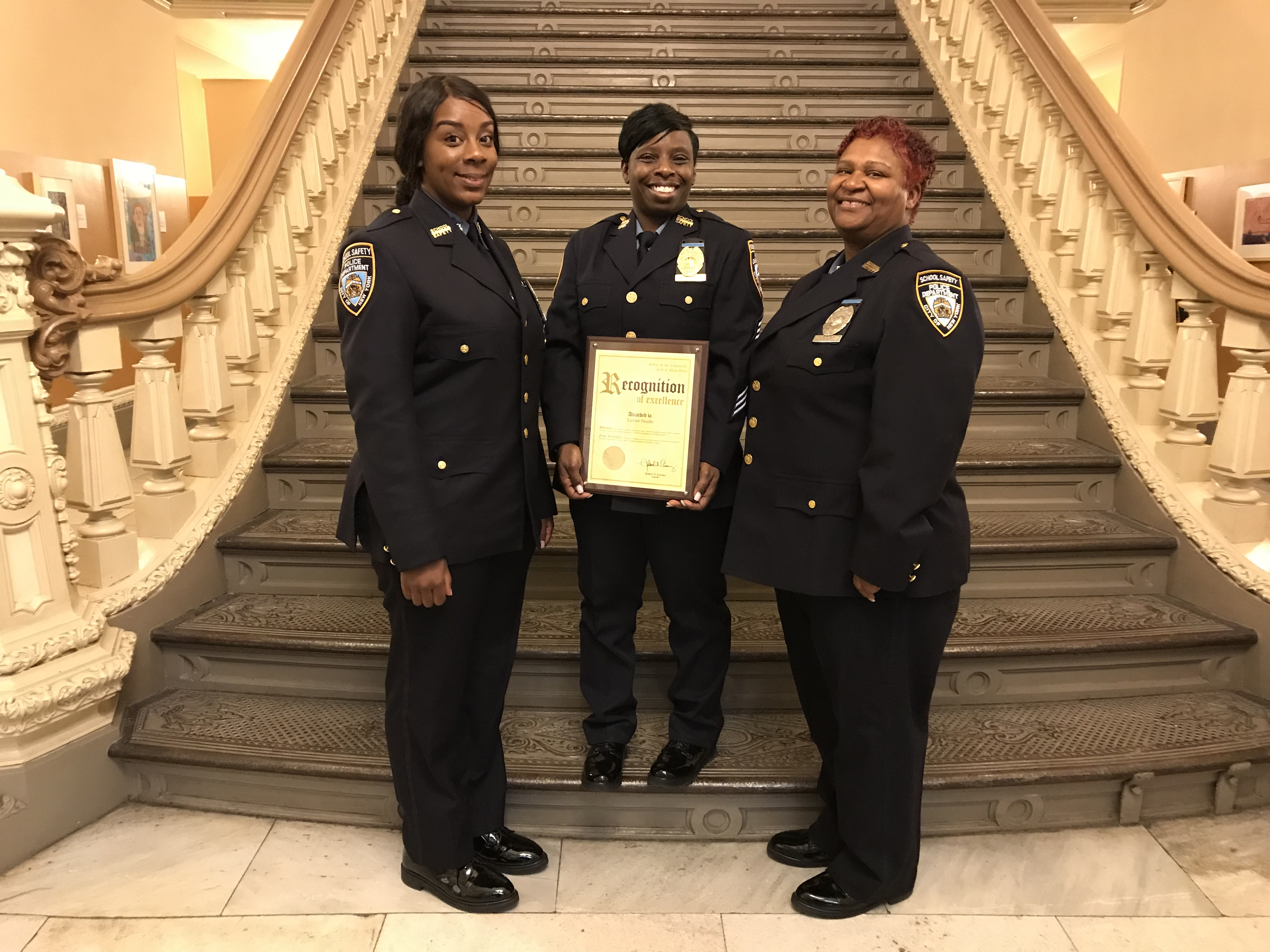 queens school safety agent honored at life saving awards